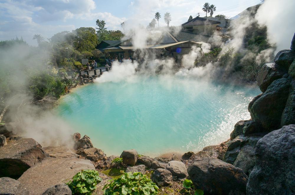 Heisse Quelle in Beppu