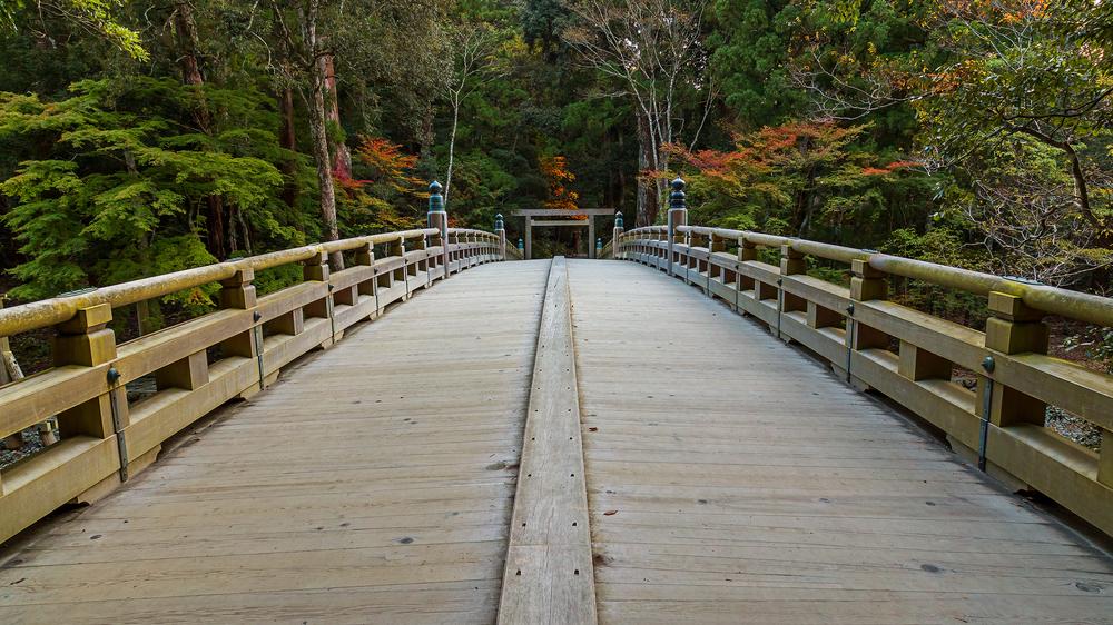 Halbinsel Ise Brücke