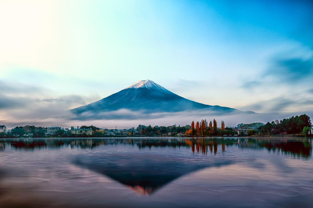 Besteigung Fuji