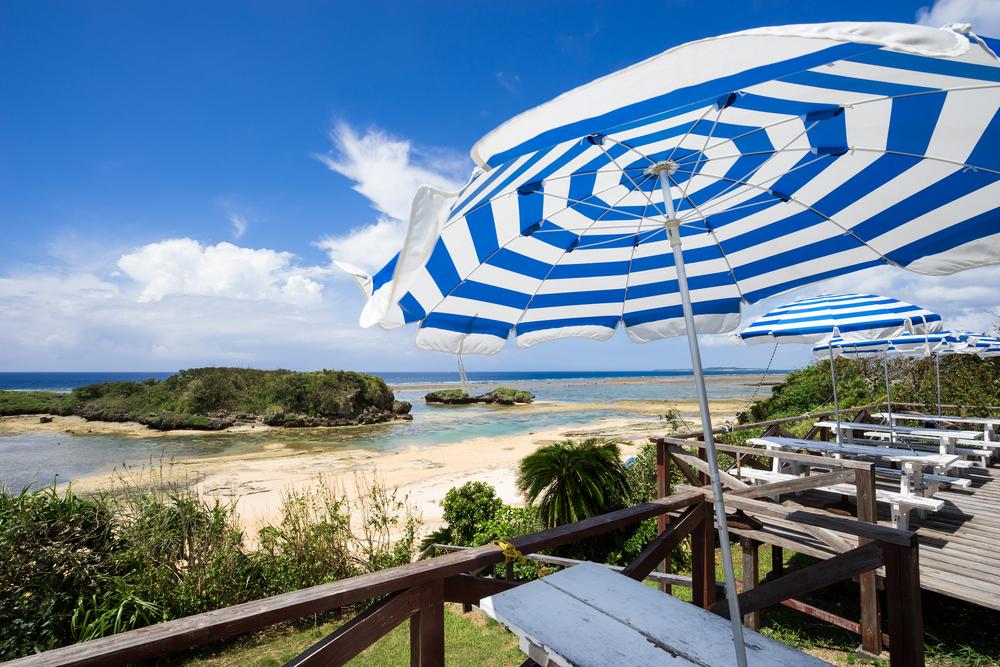 Irimote Island Sonnenschirm