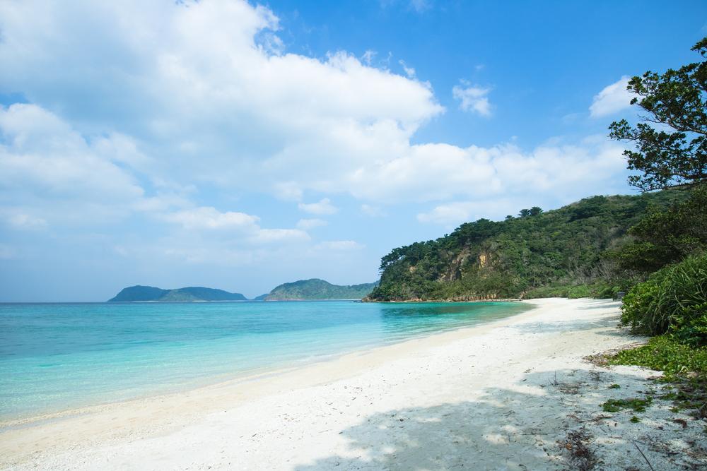 Irimote Island Weisser Strand