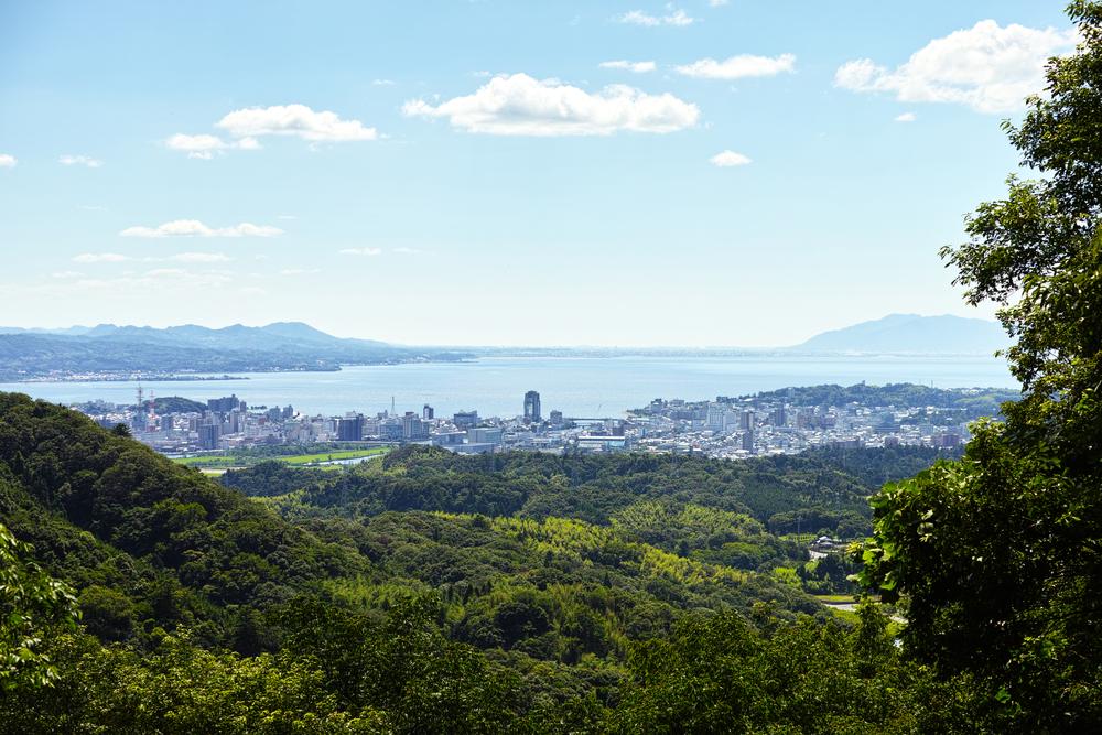 Matsue Aussicht Stadt