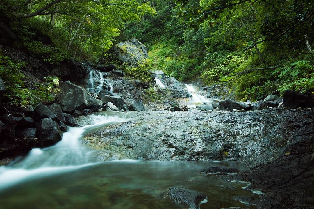 Nakashibetsu Wasserfall