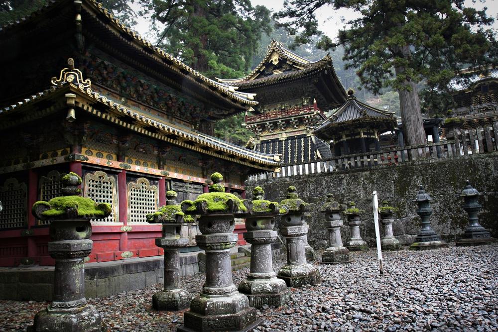 Tempel-in-Nikko
