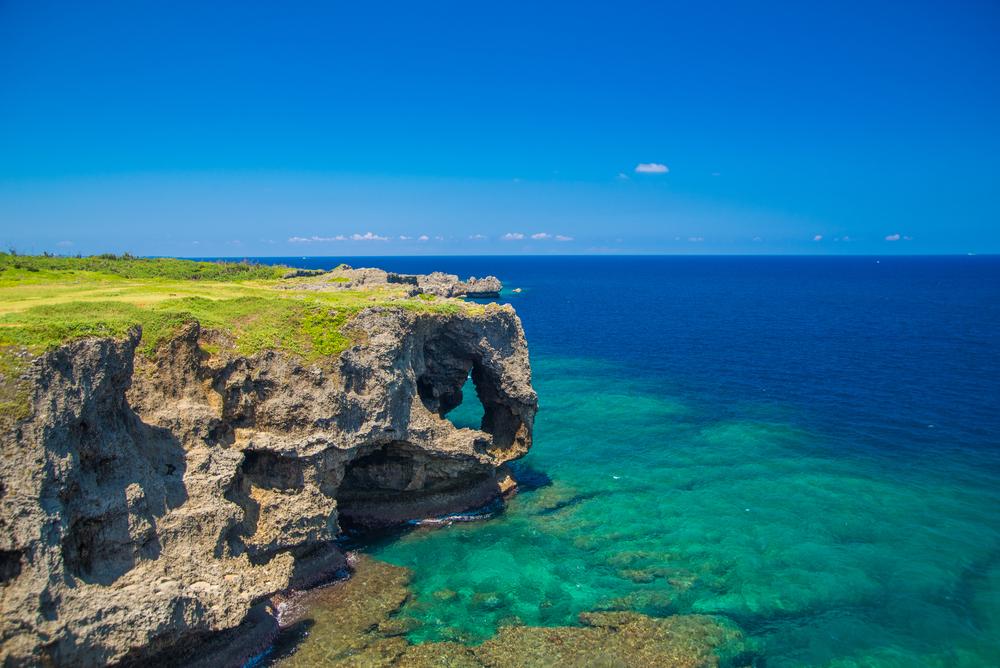 Okinawa Aussicht
