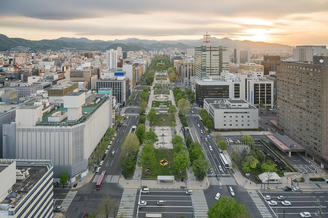 Stadtbild Sapporo