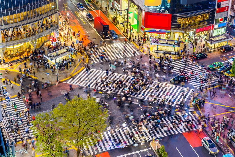 Shibuya Kreuzung