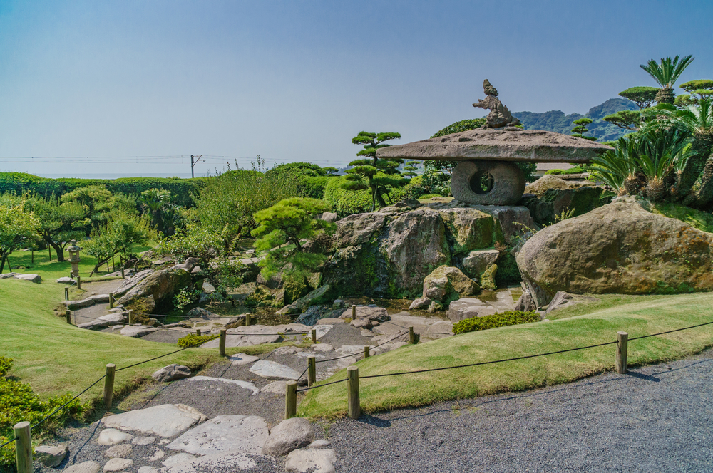 Kagoshima Landschaft